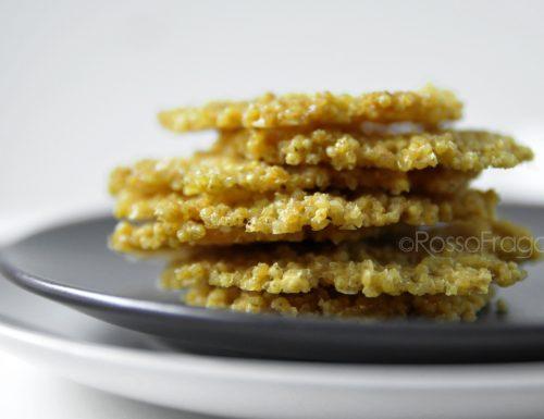 Cialde di Miglio alla Paprika – snack veloce