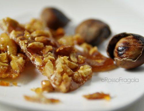 Croccante di marroni – ricetta golosa