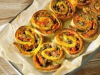 Girelle alle verdure – ricetta sfiziosa – Rosso Fragola