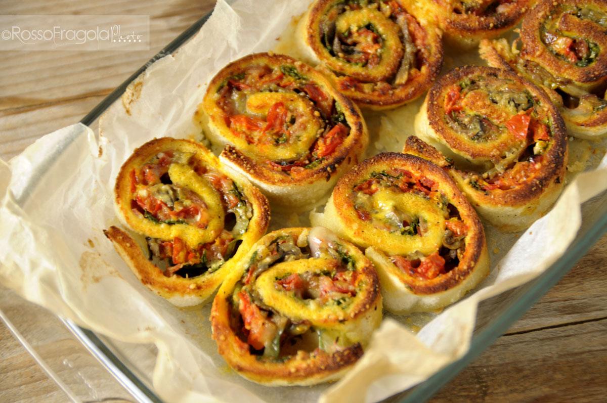 Girelle alle verdure ricetta sfiziosa rosso fragola for Ricette con verdure