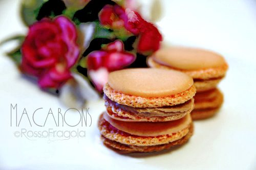 Macarons con meringa italiana