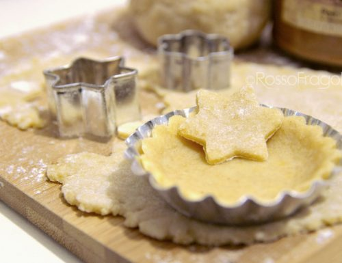 Pasta frolla senza burro alla nocciola