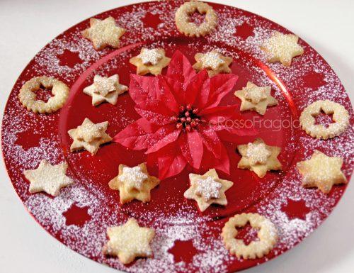 Stelle di Natale – Biscotti al cocco e cannella