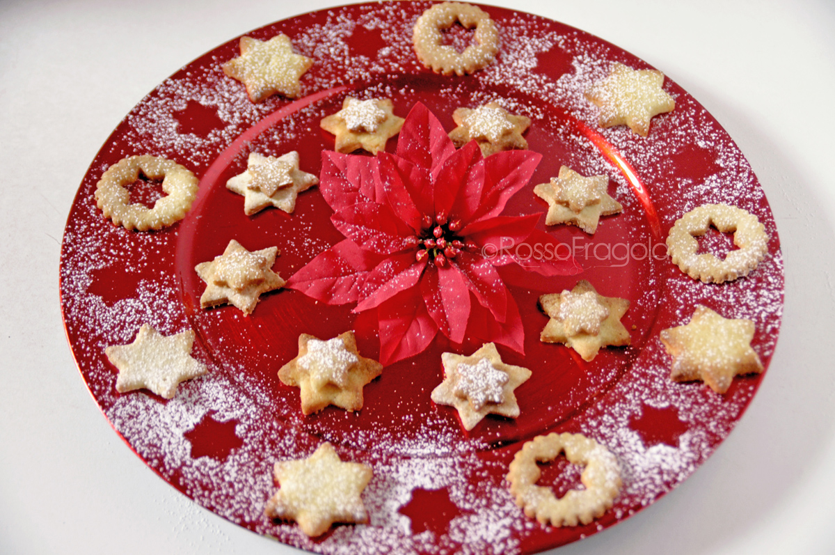 Stelle di Natale - Biscotti al cocco e cannella
