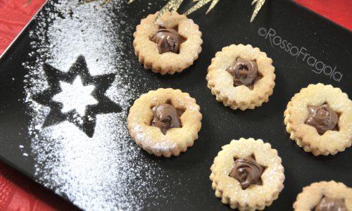 Frollini alla nocciola e nutella – ricetta golosa