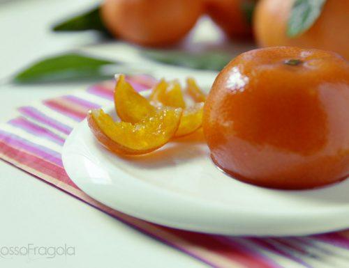 Clementine candite intere fatte in casa – metodo veloce