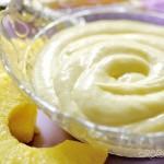 Crema all'ananas senza uova - ...