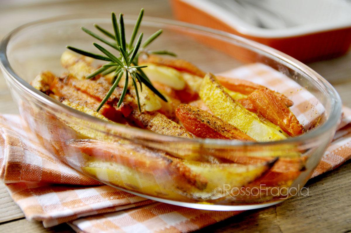 patate e carote speziate