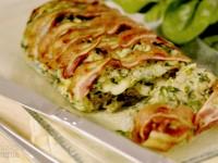Rotolo di verdure con pancetta croccante – Rosso Fragola