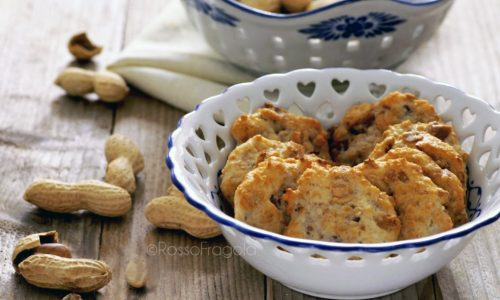 Cookies salati alle arachidi - snack sfiziosi