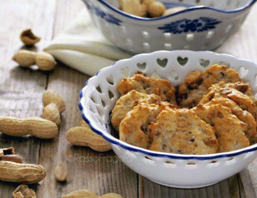 Cookies salati alle arachidi – snack sfiziosi