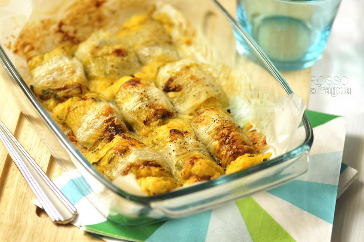 -involtini di belga con patate e funghi-