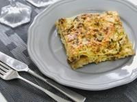 Lasagne con funghi e zucchine…il gusto è assicurato!
