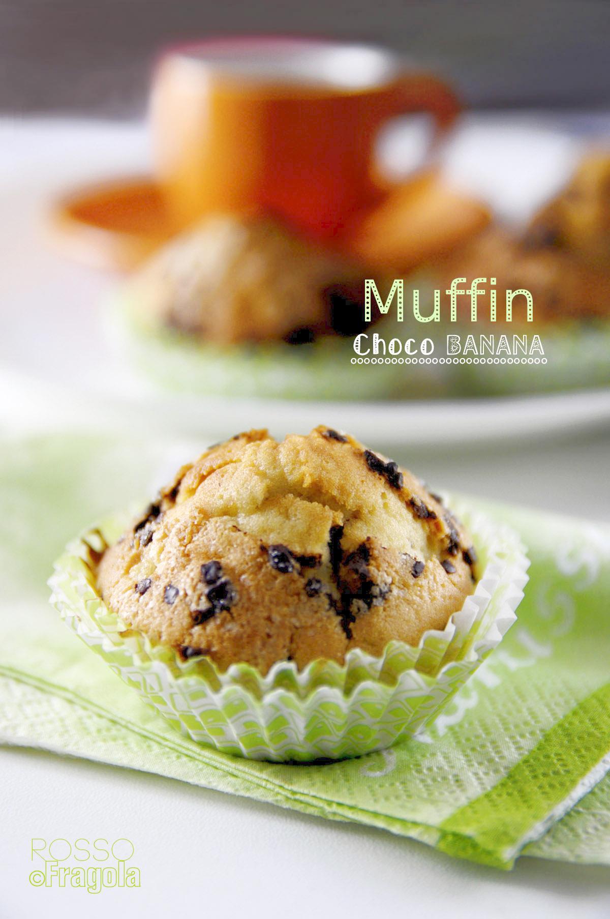 -muffin choco banana