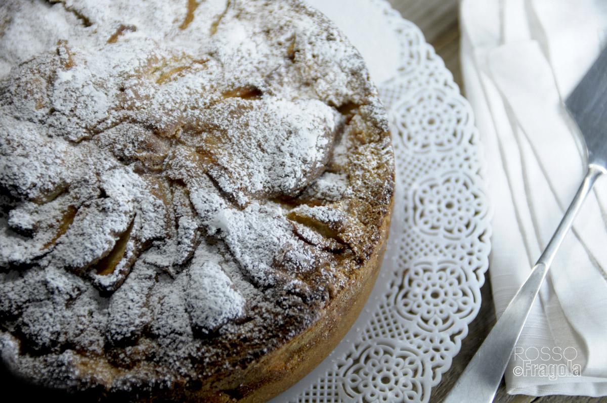 torta di mele al  mascarpone-