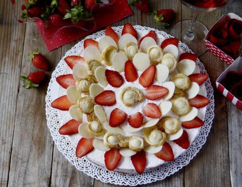 """""""Dalia Cake"""" – Torta alle Fragole e cioccolato bianco"""