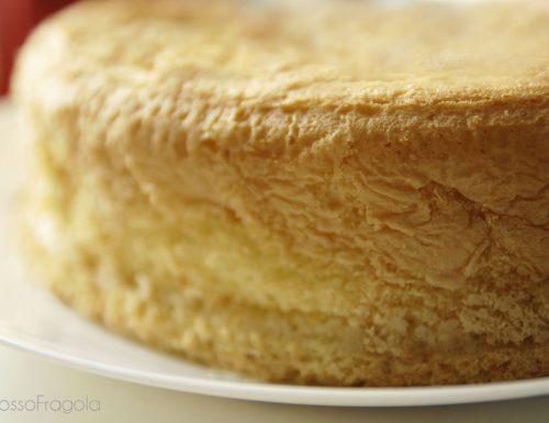 Il Pan di Spagna perfetto! Una nuvola soffice soffice…