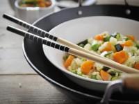 Riso al salto con verdure – ricetta light