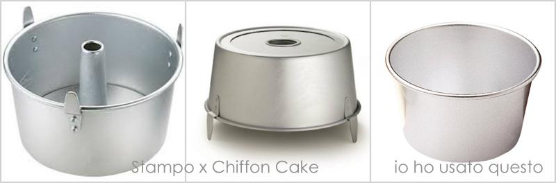 stampo x chiffon cake