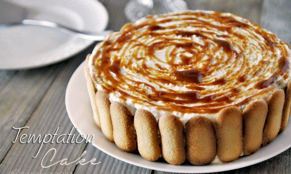 """""""Temptation Cake"""" – Torta al Caramello Cocco e Caffè"""