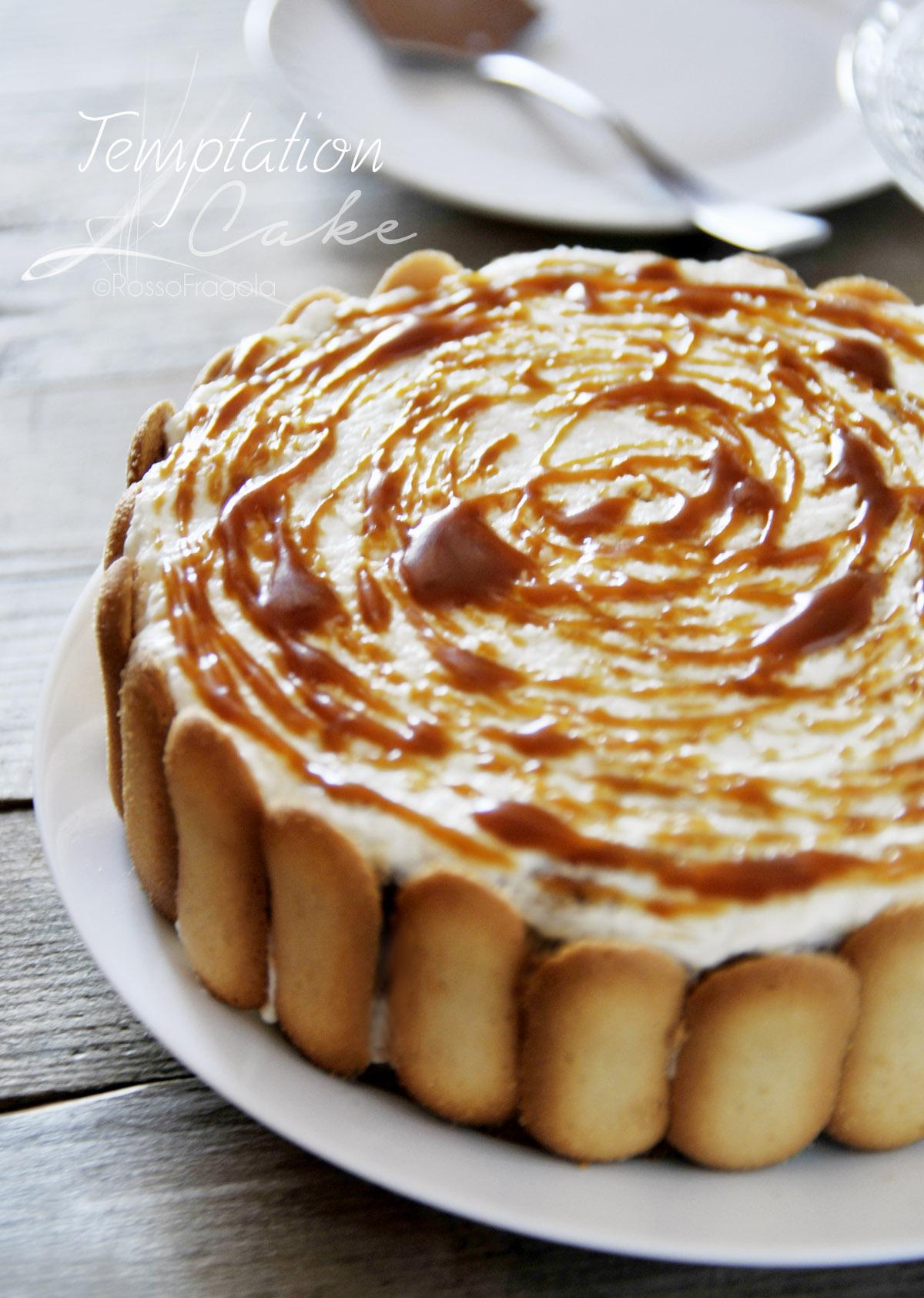 """""""Temptation Cake"""" - Torta al Caramello Cocco e Caffè"""
