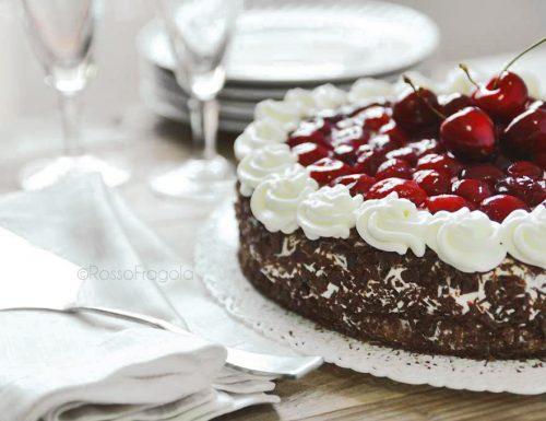 Torta Foresta Nera – Scharzwälder Kirschtorte