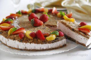 La cheese cake alla frutta che si crede una torta gelato