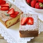 Plum Cake alle fragole