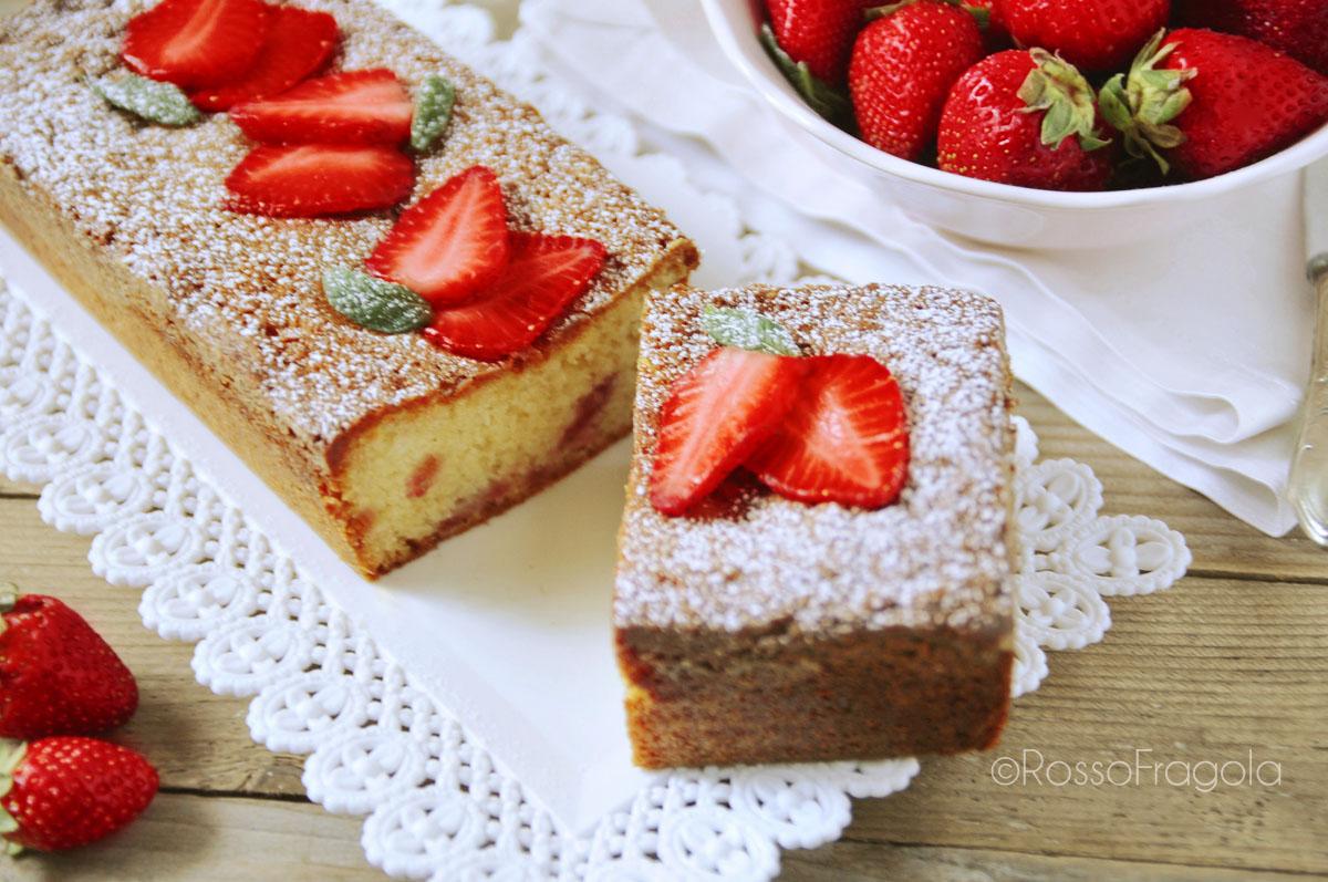 Plume Cake alle fragole