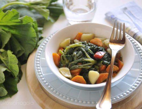 Minestra di tenerumi – ricetta tipica siciliana