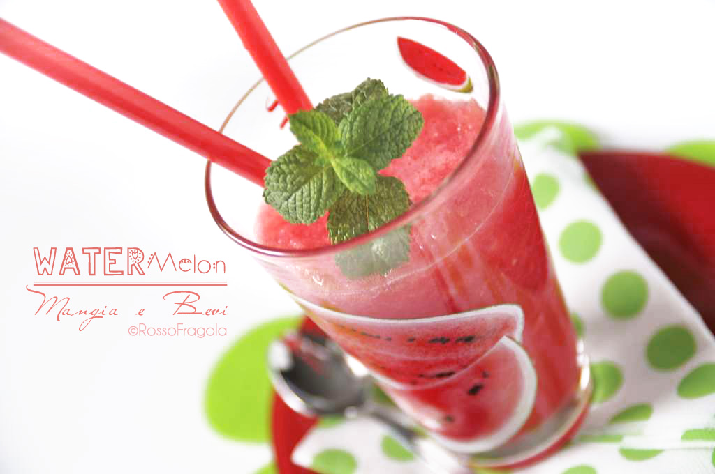 Watermelon mangia e bevi