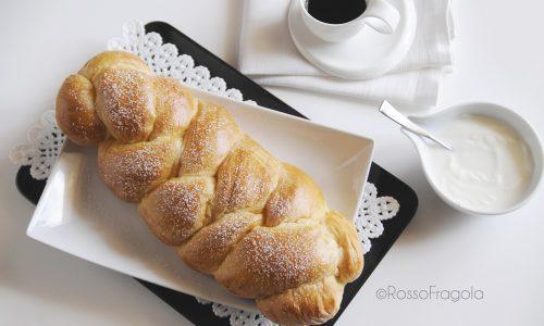 Treccia di Pan Brioche dolce e ... soffice soffice
