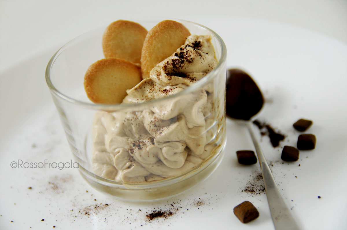 Mousse di liquirizia