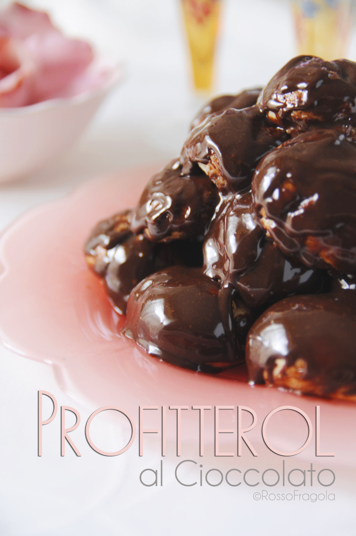 -profitterol al cioccolato-