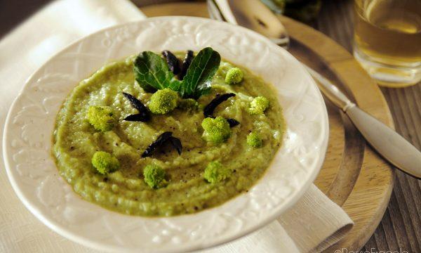 Vellutata di Broccoli e patate alla Paprika