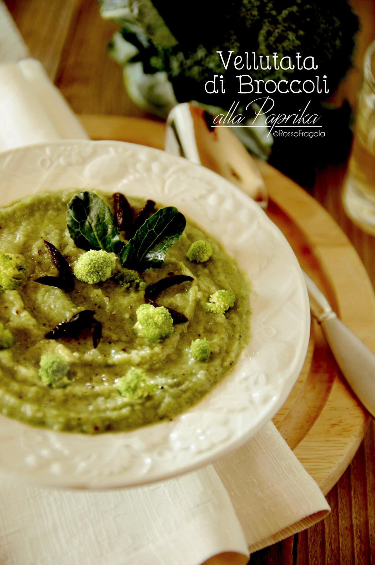 Vellutata di Broccoli alla Paprika