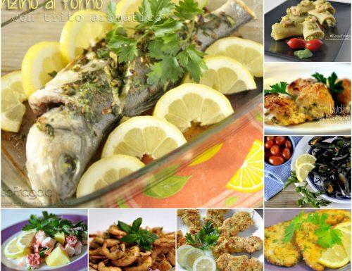 MENU' DI PESCE – Selezione di ricette a base di pesce