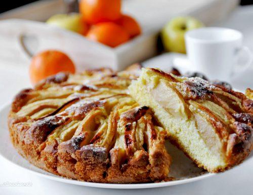 Torta di mele al mandarino soffice e profumata