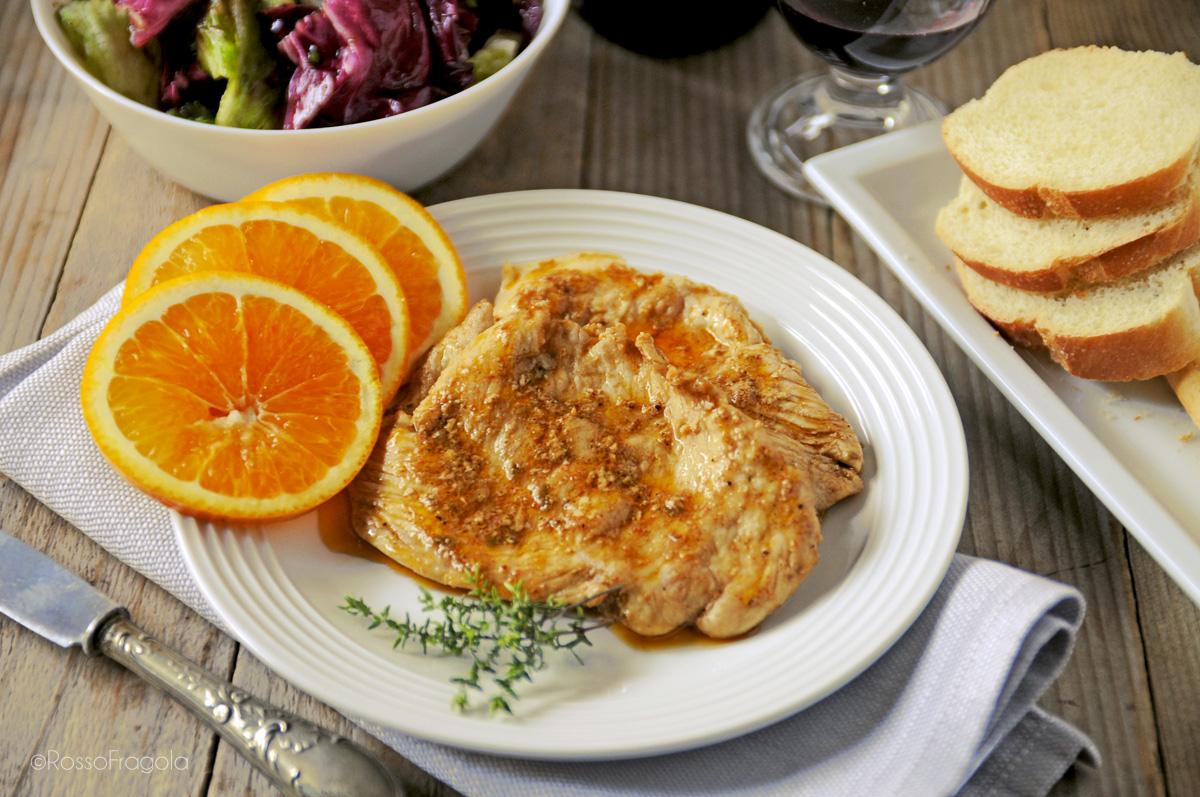 pollo all'arancia-