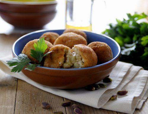 Arancini al pistacchio di Bronte – una bontà siciliana!