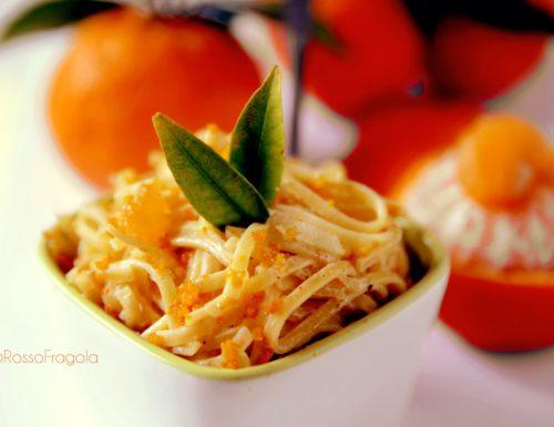 Tagliolini al mandarino di Sicilia… pronti in 10 minuti!