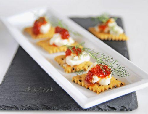 Tartine al gorgonzola – idea stuzzicante per aperitivi e buffet