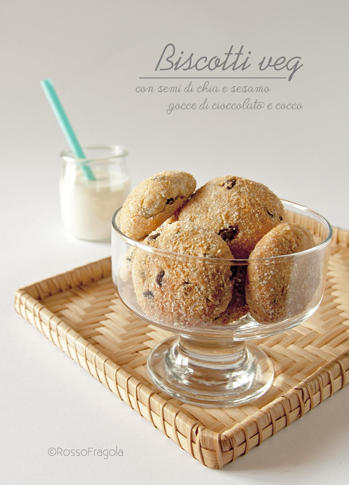 biscotti veg con semi di chia