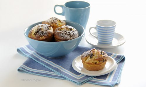 Muffin alle mele e yogurt