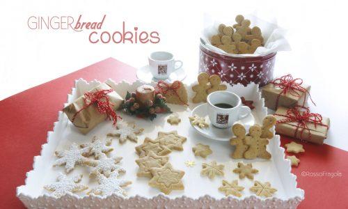 Biscotti natalizi al pan di zenzero – Ginger bread cookies