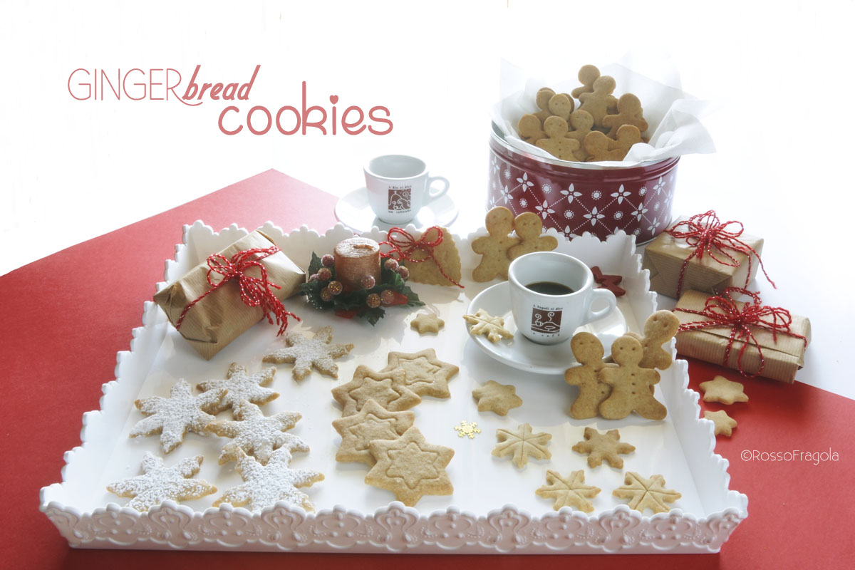 Biscotti natalizi al pan di zenzero - Ginger bread cookies