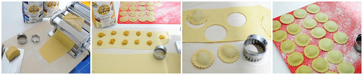 Pasta ripiena - Tortelli di zucca fatti in casa - ricetta base