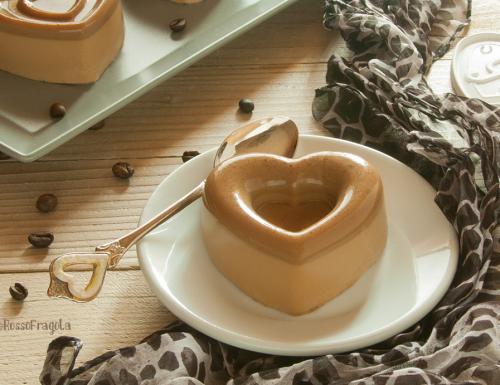 Panna cotta al caffè d'orzo e vaniglia