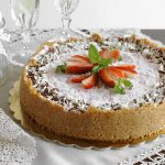 Torta cheese cake alle fragole