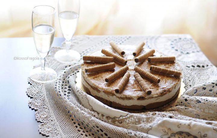 ORZOTTA & CIGARETTES – Torta fredda al caffè d'orzo e ricotta
